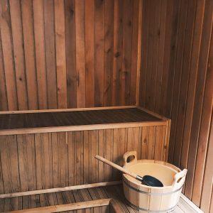 Маленькая банька с бассейном на 4-5 человекаленькая банька с бассейном на 4-5 человек
